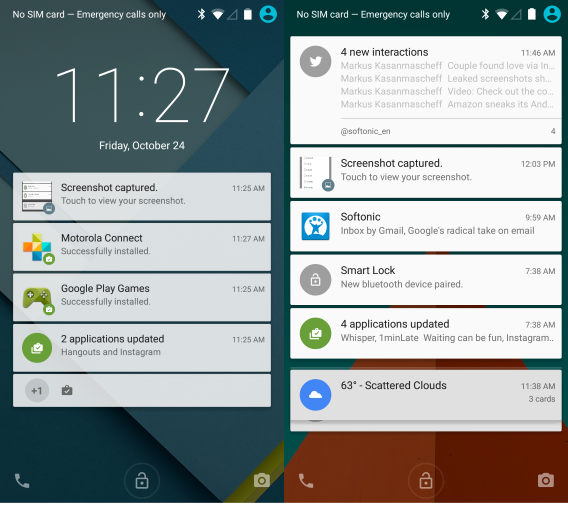 Lollipop Android Notification Icons