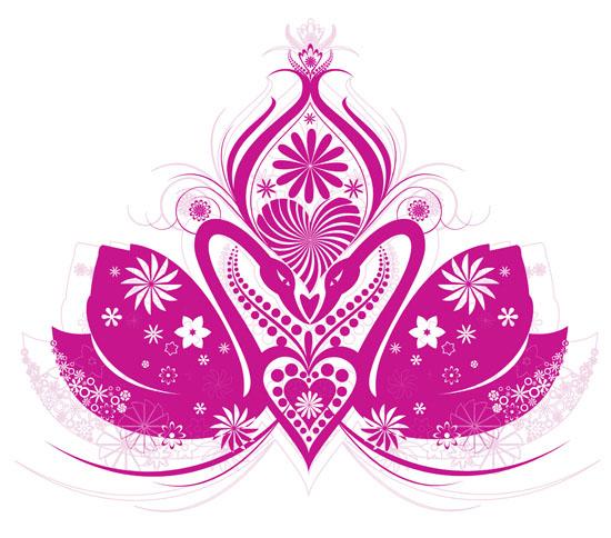 Lotus Flower Vector Graphic
