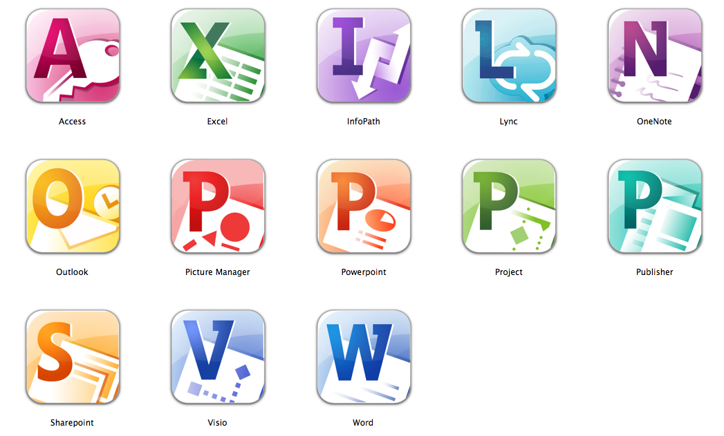 19 office 2010 icons images microsoft office 2010 icons for Office 2010 clipart
