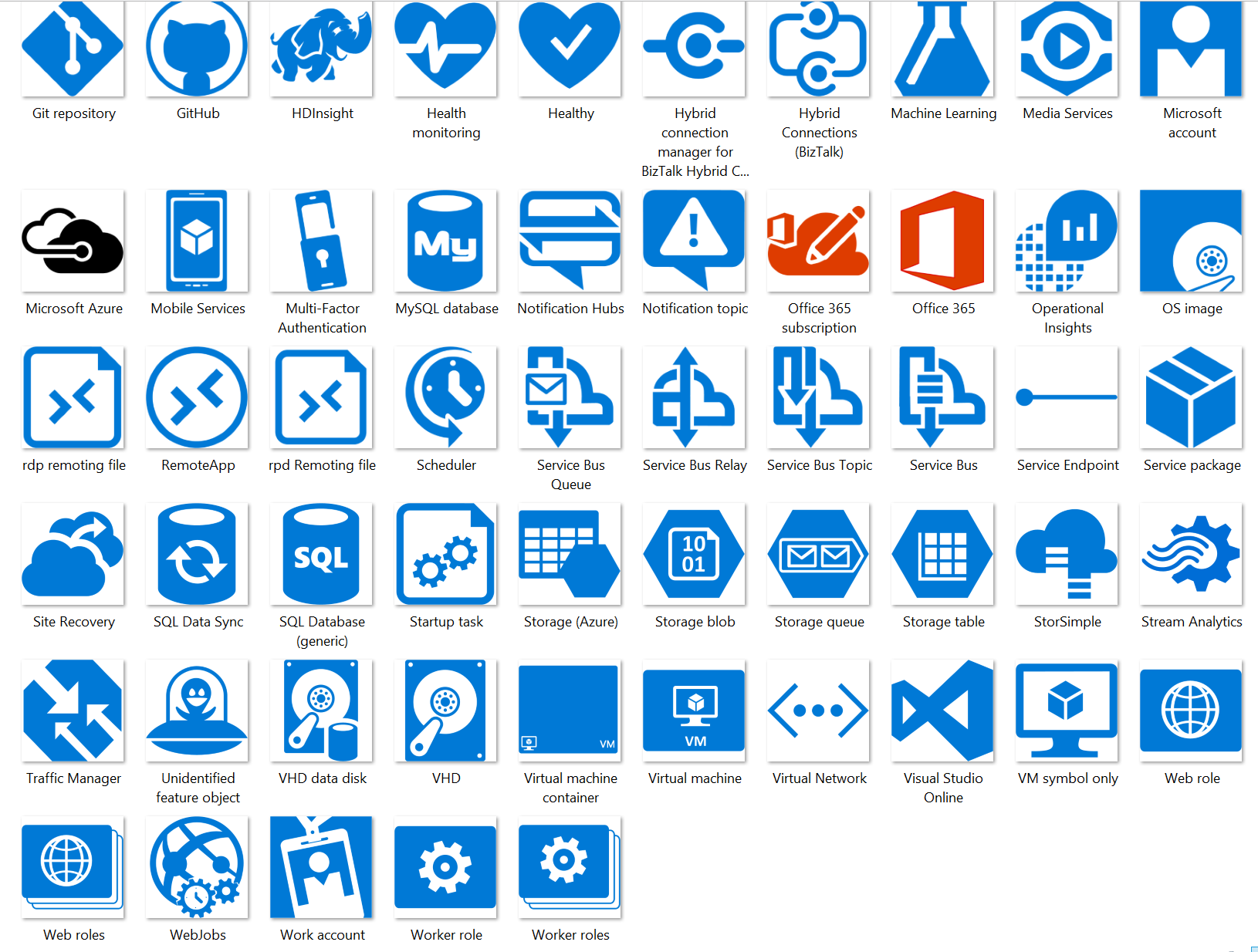 Microsoft Visio Server Icon