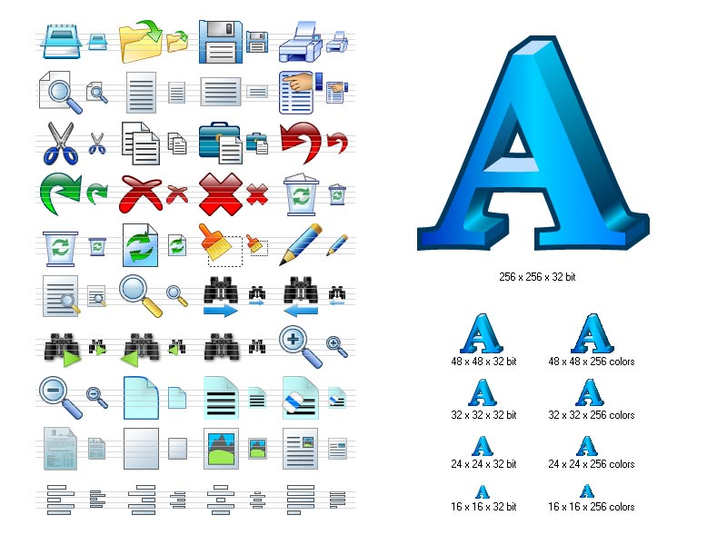 Microsoft Word Icon Library