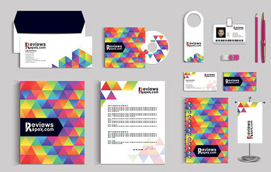 Modern Graphic Design Stationery Template