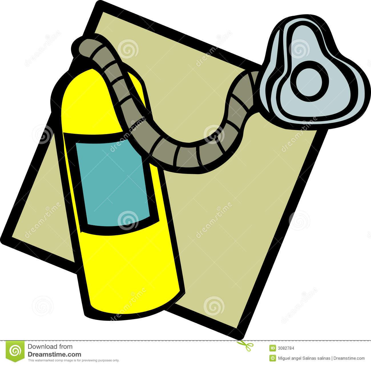 Oxygen Tank Clip Art