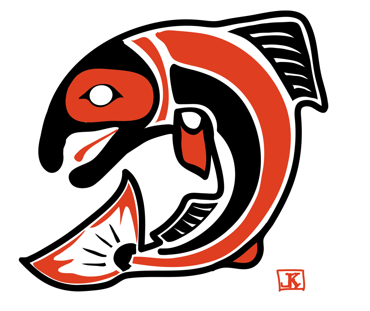 17 native american fish designs images free native for Pacific northwest fish