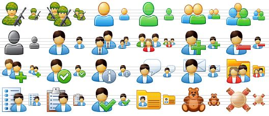 People Icon Microsoft Soldier