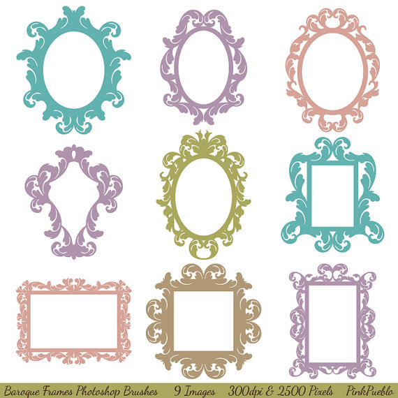 Photoshop Brushes Frames and Borders