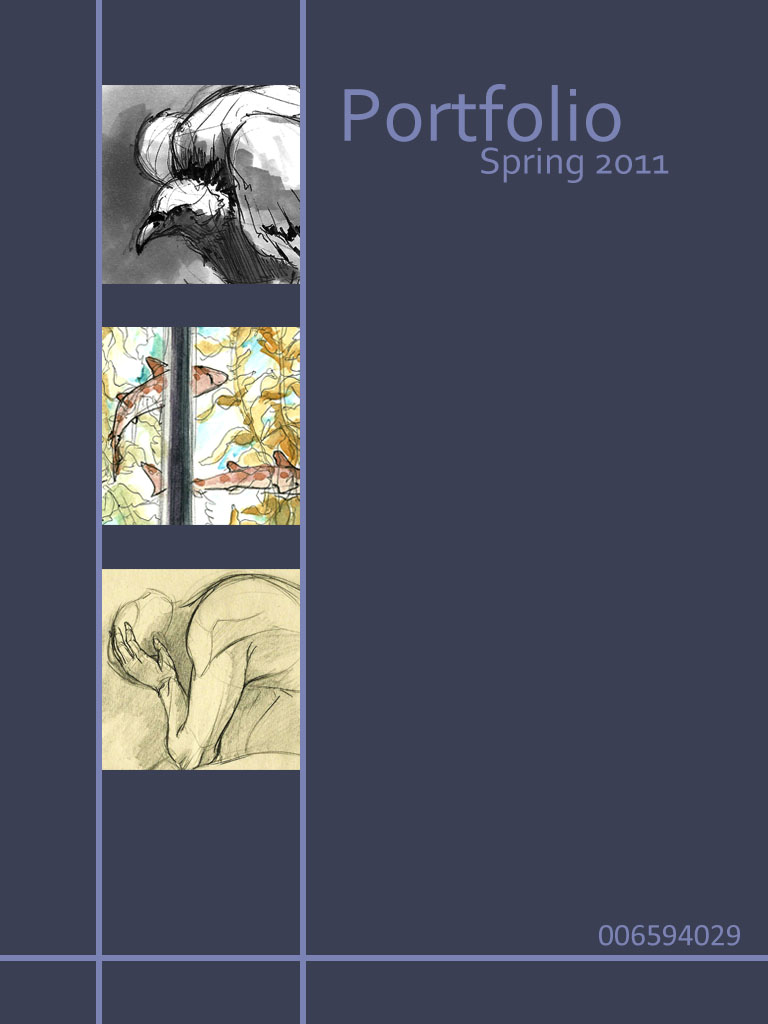 nurse portfolio template - 10 professional portfolio cover page template images