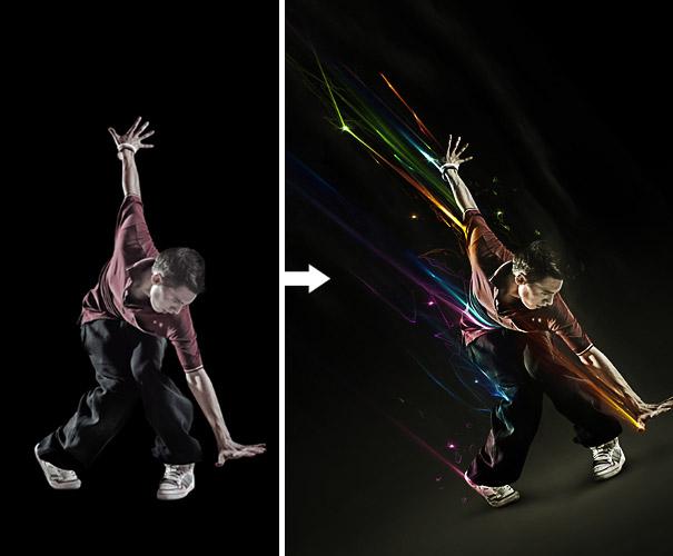 Powerful Light Effect Tutorials Photoshop