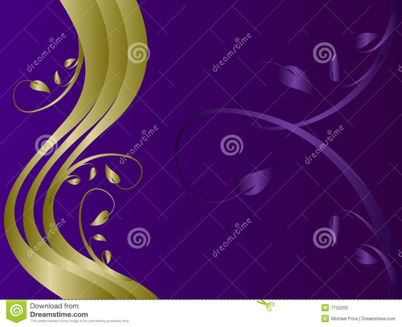 16 Purple And Gold Vector Images