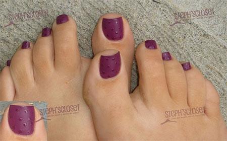 Purple Matte Nail Polish