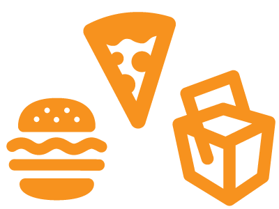 Restaurant Food Delivery Icon