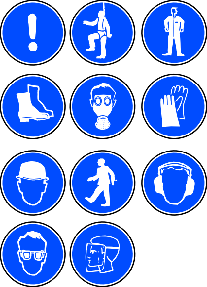 12 PPE Symbols And Icons Images