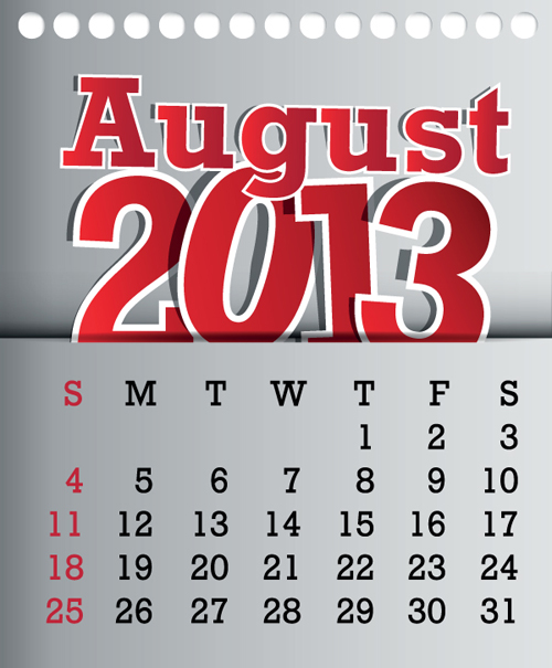 10 August Vector Graphic Images