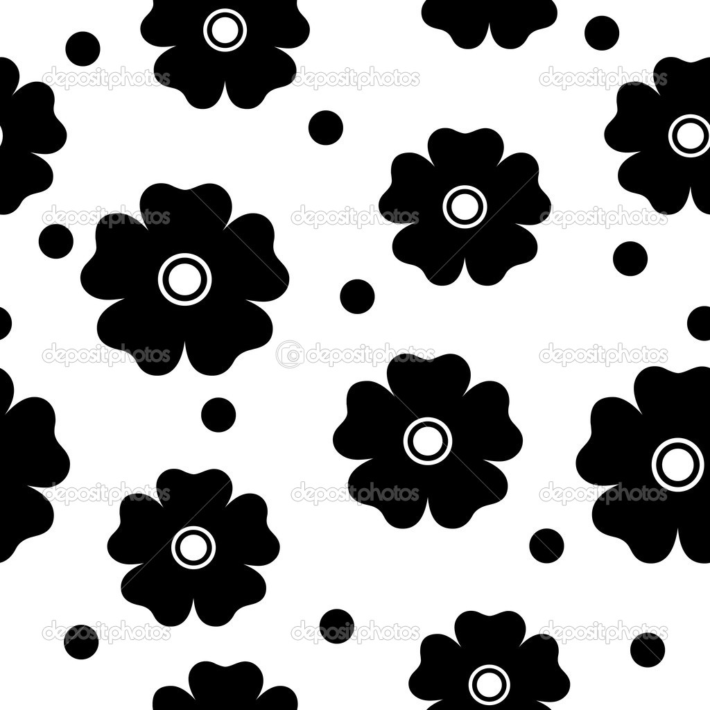 Simple Black and White Designs Patterns