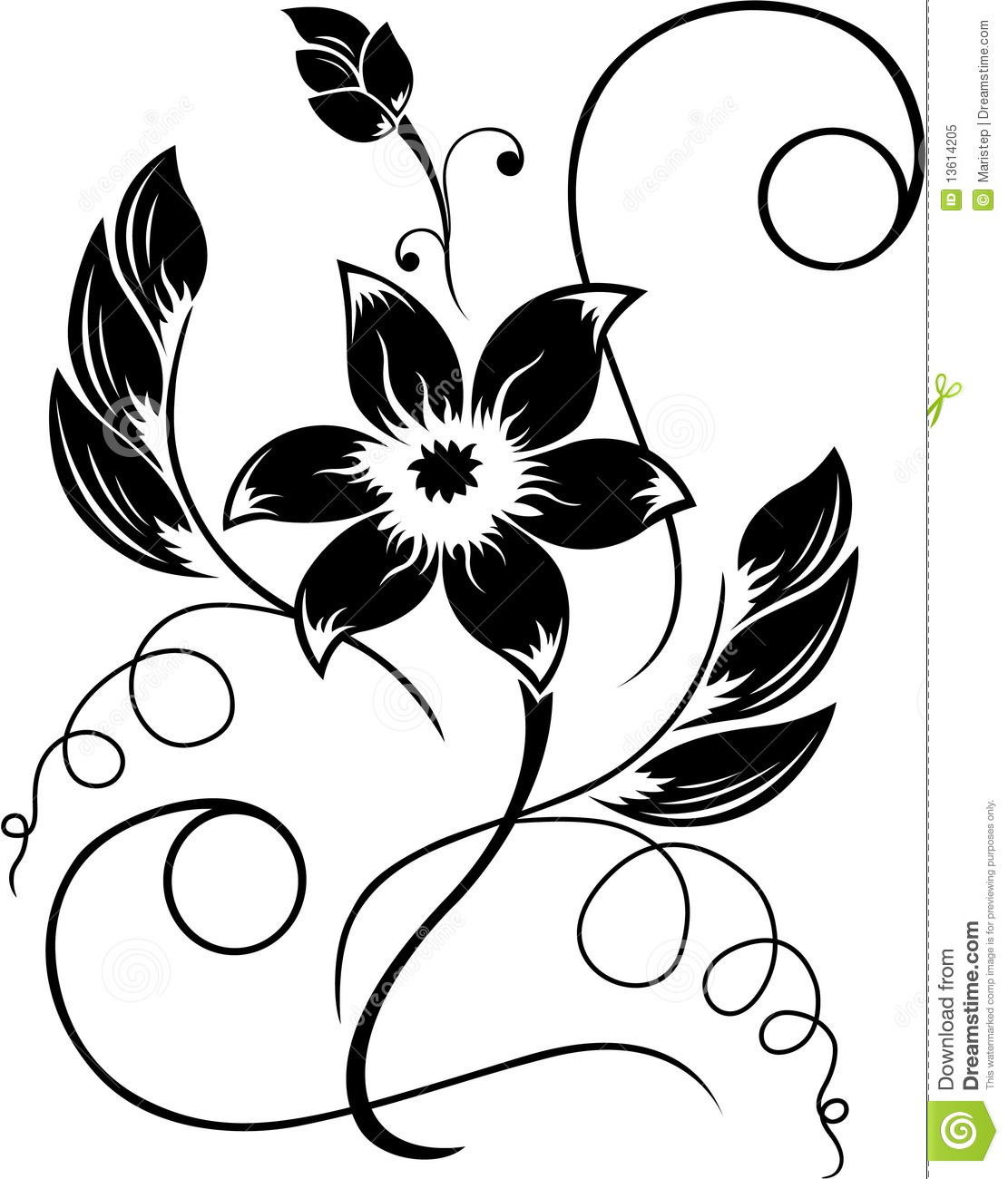 Simple Black and White Drawings