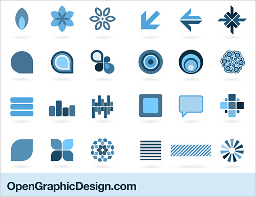 6 Graphic Design Element Shape Images
