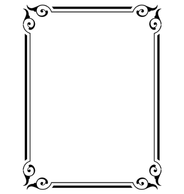 Simple Vector Borders and Frames