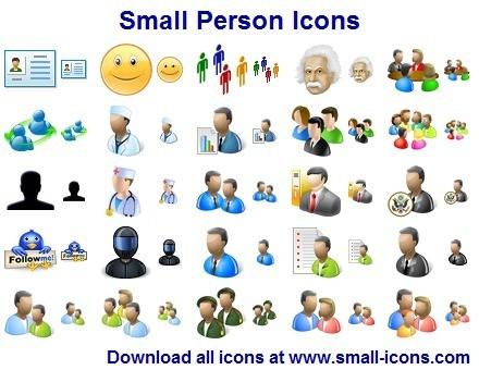 Small Person Icon