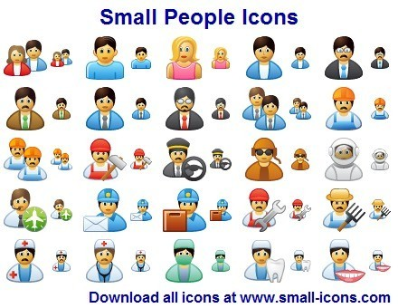 Software People Icons