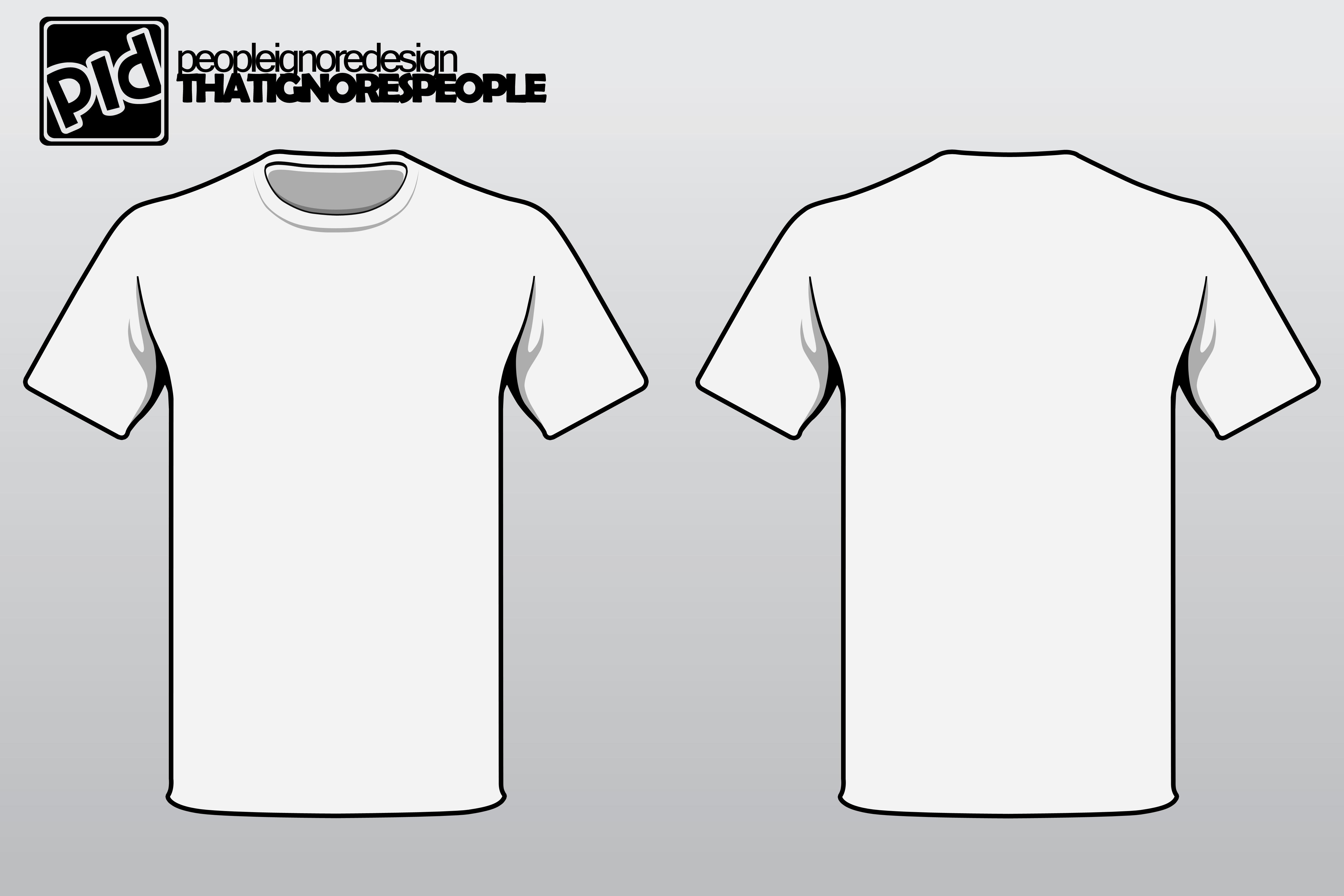 T-Shirt Design Layout