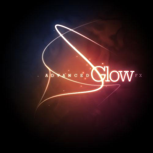 Text Effects Photoshop Glow Tutorial