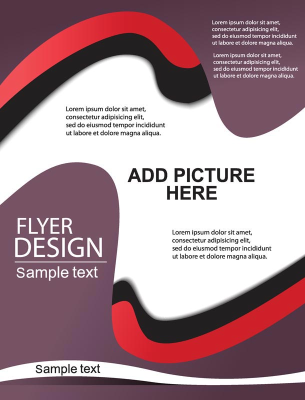 Vector Design Brochures Covers