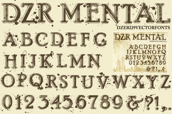Vector Font Free Download