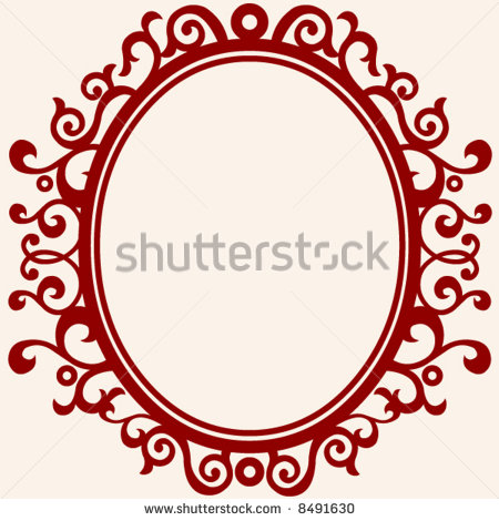 10 Oval Frame Vector Images