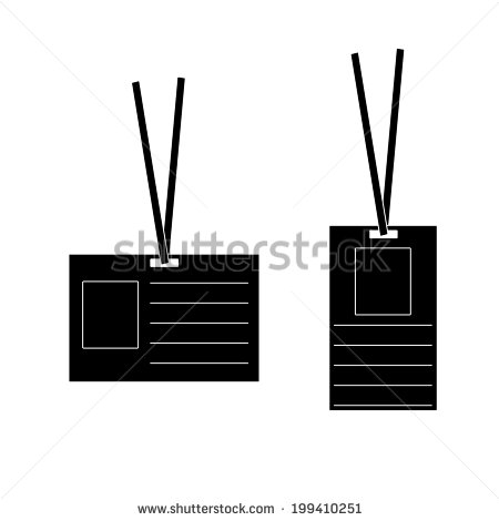 Visitor ID Badge Template