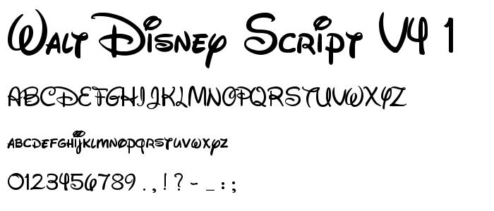 8 Walt Font By W.D. Popsicle Images