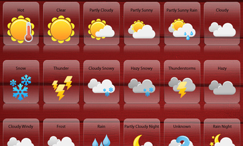 11 Weather Channel Hail Icon Images