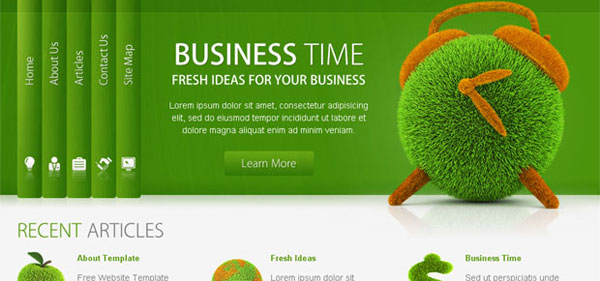 best responsive html5 website template free download. download ...