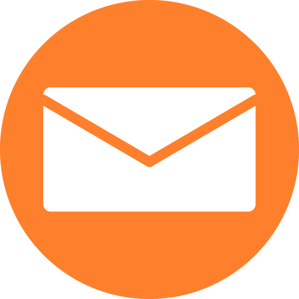 White Email Icon