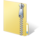 12 Windows Zip File Icon EPS Images