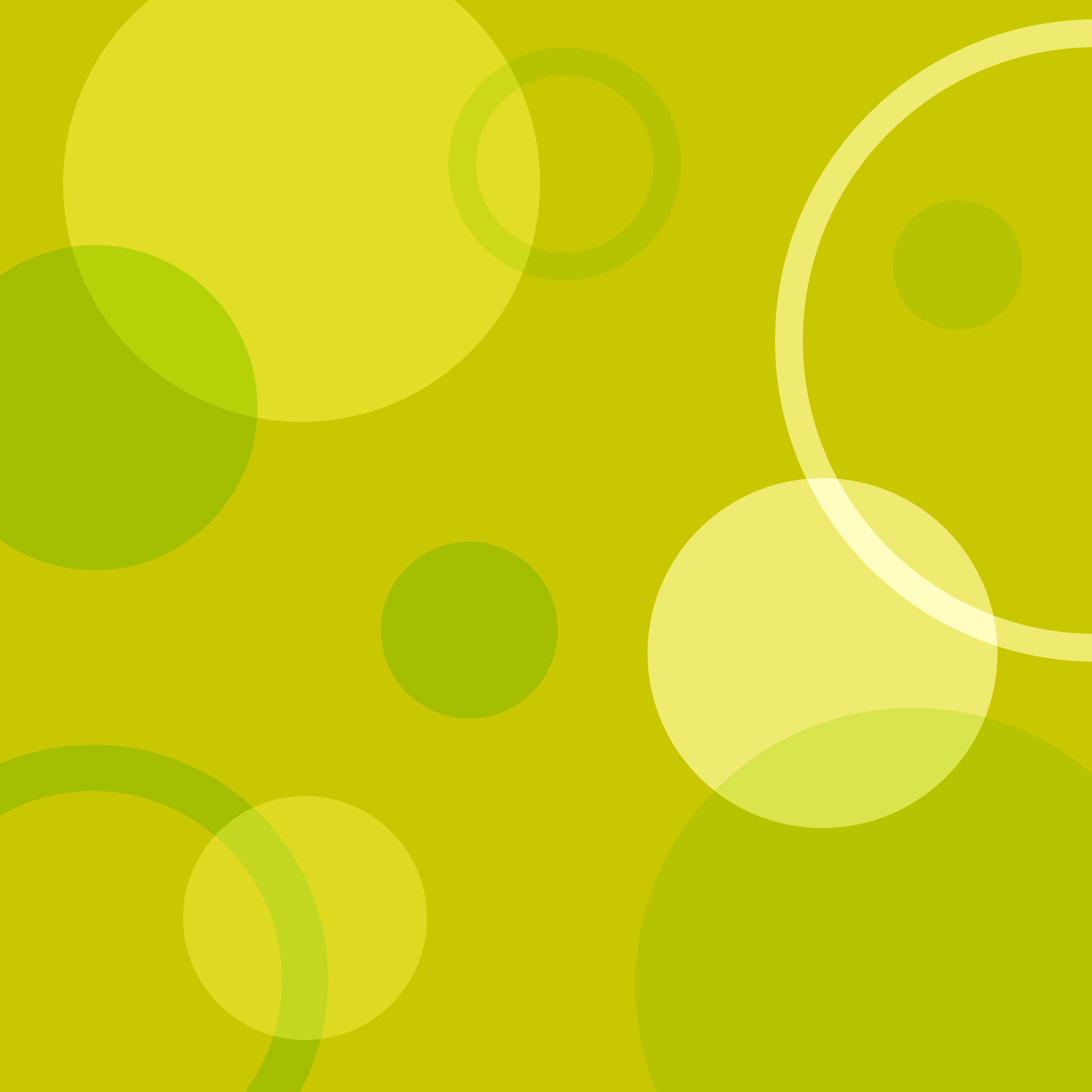 Yellow Circle Pattern Clip Art