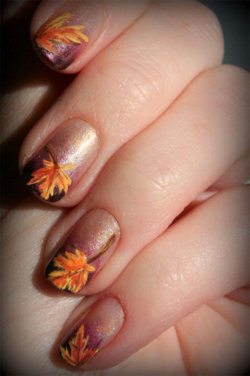 2014 Fall Nail Art Design