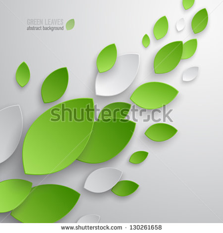 5 Green Leaf Icon Without Background Images