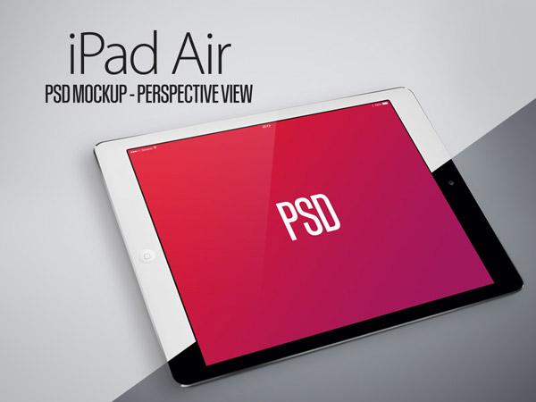 Air iPad PSD Mockup