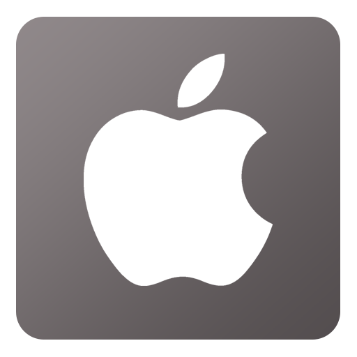 16 Flat Apple Icons Images