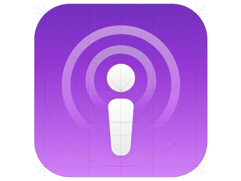 Apple Podcast App Icon