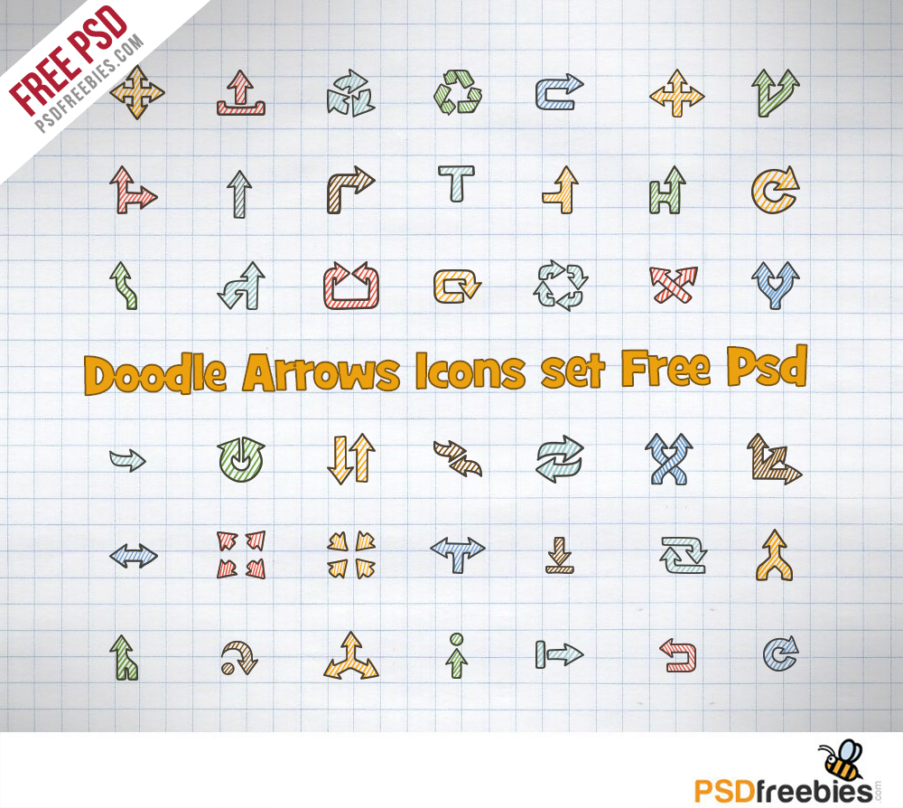 Arrow Icon Set Free