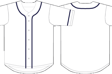 Baseball Jersey Template Printable Free