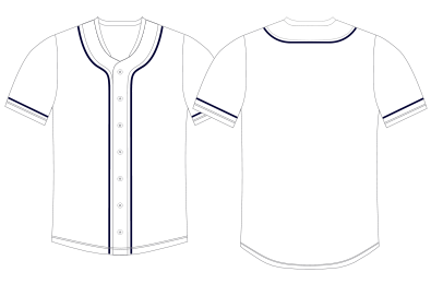 13 baseball uniform template vector images baseball for Baseball shirt designs template