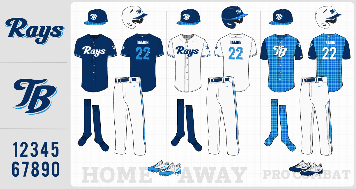 Baseball Uniform Design Template