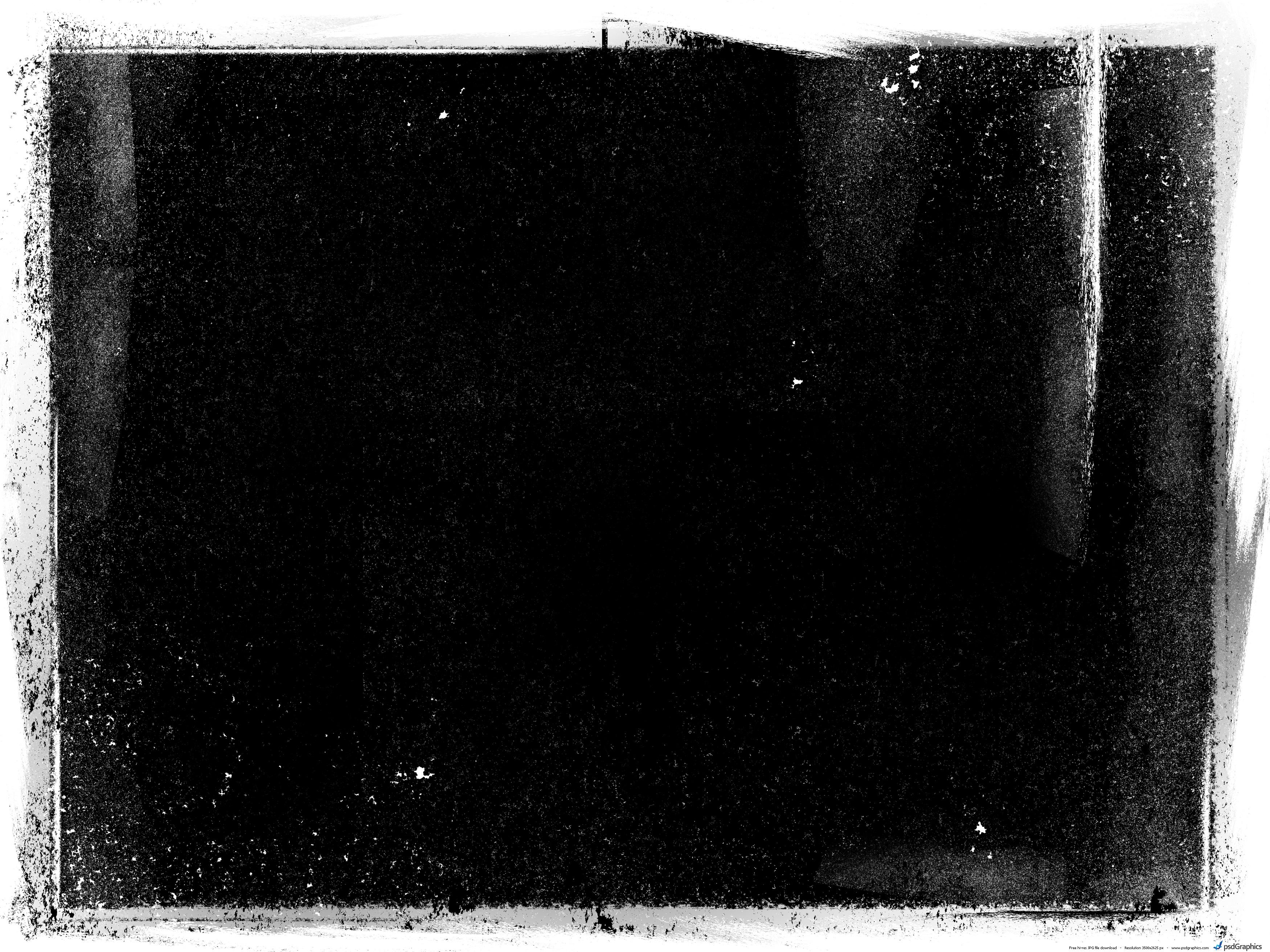 Black White Grunge Background