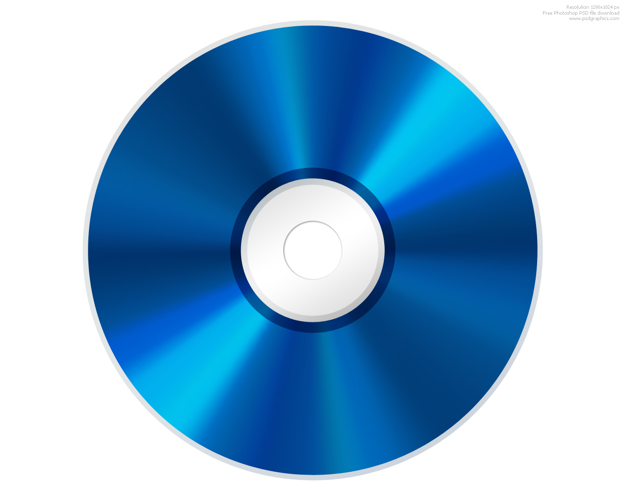 17 CD Icons Blue Images