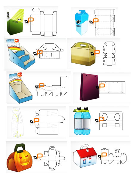 Box Packaging Design Templates