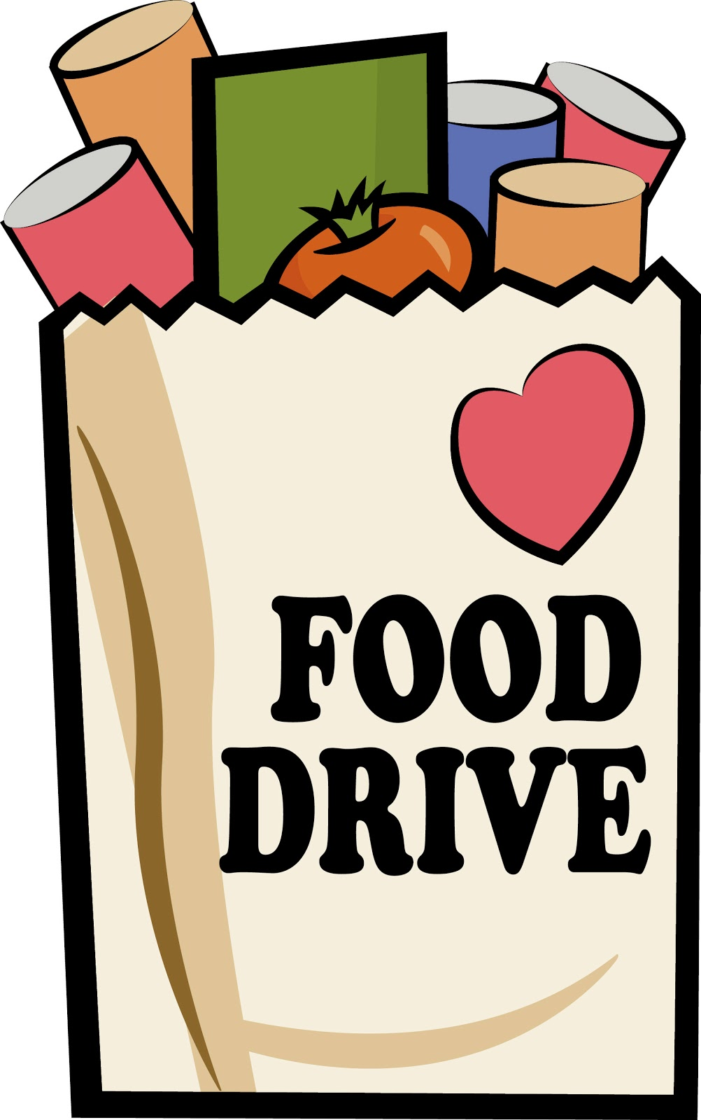 12 Food Drive Graphics Images