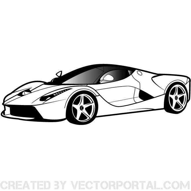 Car Vector Art