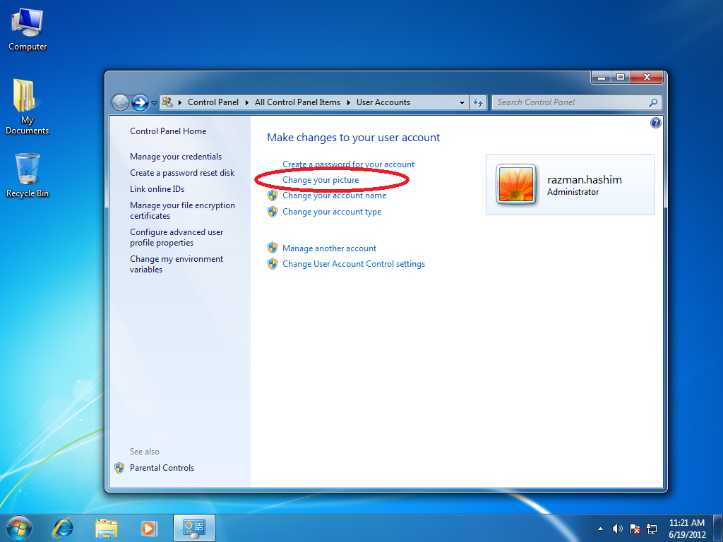 17 windows 7 change user icon images change default for Change windows